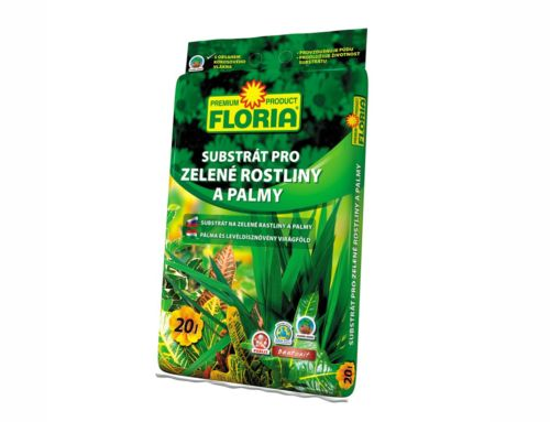 Substrát pro zelené rostliny a palmy