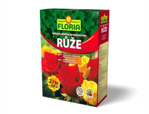 Organo-minerální hnojivo pro růže