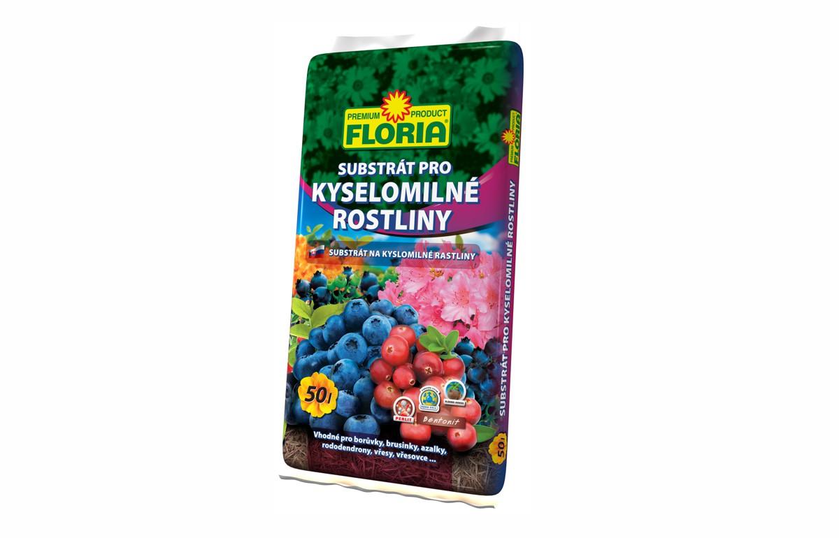 Substrát pro kyselomilné rostliny